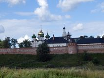 Monastery-fortress in Suzdal Stock Photos
