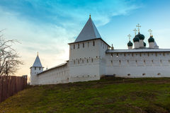 Monastery in the fortress Royalty Free Stock Photos