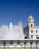 Monastery and Fountain Stock Photography