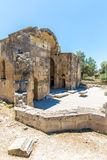 Monastery (friary) in Messara Valley at Crete island in Greece. Royalty Free Stock Photos