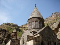 Monastery Geghard, Armenia Royalty Free Stock Images