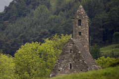 Monastery Glendalough in Ireland Royalty Free Stock Photo