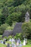 Monastery Glendalough in Ireland Stock Images