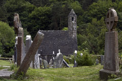 Monastery Glendalough in Ireland Royalty Free Stock Images