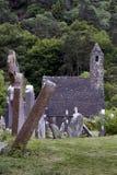 Monastery Glendalough in Ireland Royalty Free Stock Image
