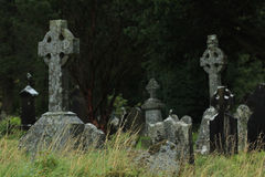 Monastery Glendalough in Ireland Royalty Free Stock Photography
