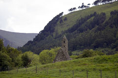 Monastery Glendalough in Ireland Stock Photography