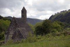 Monastery Glendalough in Ireland Stock Image
