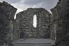 Monastery Glendalough in Ireland Stock Photos