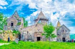 The Monastery in Gosh Royalty Free Stock Photo
