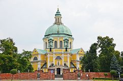 Monastery in Gostyn. Baroque monastery in Gostyn, Poland Stock Images