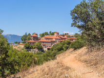 Monastery of Grand Meteora Royalty Free Stock Photos