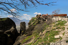 The Monastery of Great Meteoron in Greece. Stock Photography
