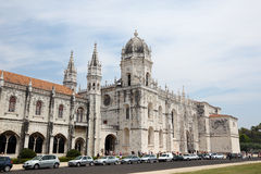 Monastery of the Hieronymites, Lisbon Stock Images