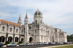 Monastery of the Hieronymites, Lisbon Stock Images