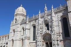 Monastery of the Hieronymites. Lisbon Royalty Free Stock Photos