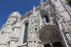 Monastery of the Hieronymites in Lisbon. Portugal Royalty Free Stock Photography