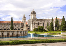 Monastery of the Hieronymites, Lisbon, Portugal Stock Images