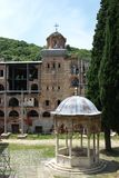Monastery Hilandar Stock Image