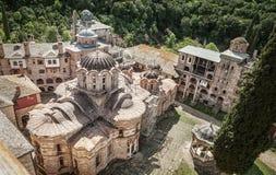 Monastery Hilandar Stock Photography