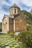 Monastery of the Holy Archangels Michael and Gabriel in Georgia. Monastery of the Holy Archangels Michael and Gabriel in the Daryal gorge in Georgia Stock Images