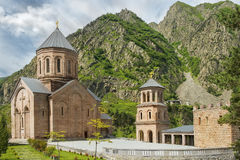 Monastery of the Holy Archangels Michael and Gabriel in Georgia. Monastery of the Holy Archangels Michael and Gabriel in the Daryal gorge in Georgia Stock Image