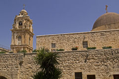 Monastery of the Holy Cross in Jerusalem Stock Photography
