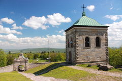 Monastery of the Holy Cross. Stock Image