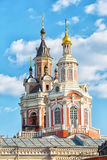 Monastery of the Holy Mandylion, Moscow Stock Photos