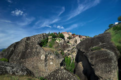 Monastery of the Holy Transfiguration /Grand Meteor/, Meteora, Greece Royalty Free Stock Image