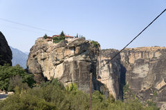 Monastery of the Holy Trinity, Meteora Royalty Free Stock Image