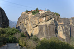 Monastery of the Holy Trinity, Meteora Stock Images