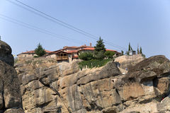 Monastery of the Holy Trinity, Meteora Royalty Free Stock Images