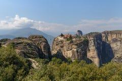Monastery of the Holy Trinity in Meteora Royalty Free Stock Photos