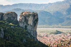 Monastery of Holy Trinity  in Meteora, Greece Royalty Free Stock Images