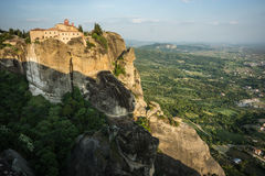 Monastery of Holy Trinity  in Meteora, Greece Stock Images