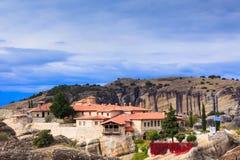 Monastery of the Holy Trinity in Meteora, Greece royalty free stock photo
