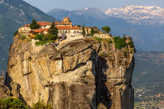 The Monastery of the Holy Trinity (1475), Meteora, Greece Royalty Free Stock Photo