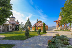Monastery of the Holy Virgin - Lesje, Serbia stock photo