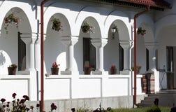 Monastery homes - RAW format Royalty Free Stock Photo