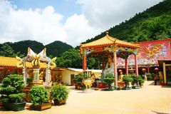 Monastery, Hong Kong royalty free stock photography