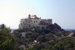 Monastery Hrissoskalitissas Royalty Free Stock Images