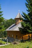 Monastery of the Ialomita Cave Royalty Free Stock Photo