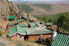 Monastery In Mongolia Stock Photo