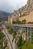 Monastery In Montserrat, Spain Royalty Free Stock Images
