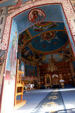 Monastery interior Royalty Free Stock Photo
