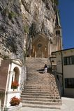 Monastery in Italy Royalty Free Stock Photography
