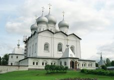 Monastery Iversky Stock Images