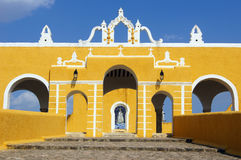 Monastery in Izamal Stock Images