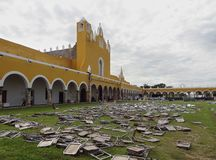 Monastery of Izamal Royalty Free Stock Photography